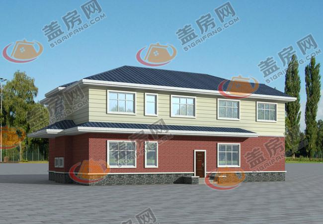 农村自建房屋设计图,占地150平米,造价20万