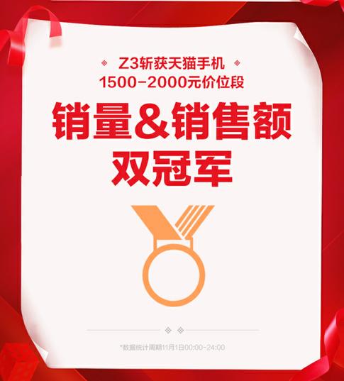 剁手节战果累累,vivo Z3一鸣惊人强势屠榜   网络推广  第2张