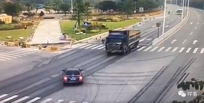 广州警方:女民警执行公务时遇大货车闯红灯,被撞牺牲