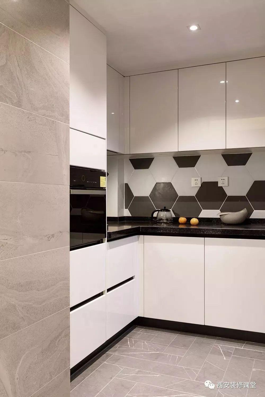 电器收纳�_厨房西厨空间,左手高柜镶嵌电器收纳《厨房收纳,一定要做高柜3.