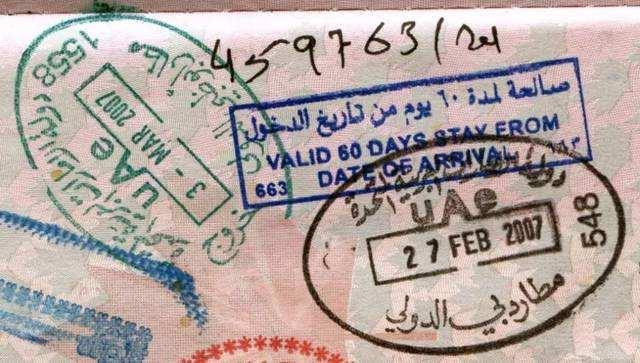 迪拜华人求职者注意,离开阿联酋后,6个月的临时签证无效