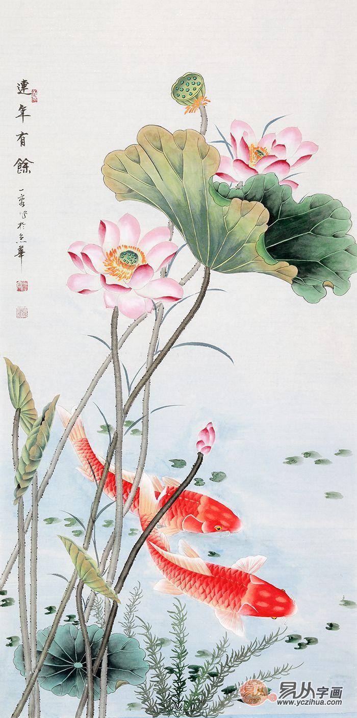 家居挂画:王一容老师手绘花鸟画欣赏
