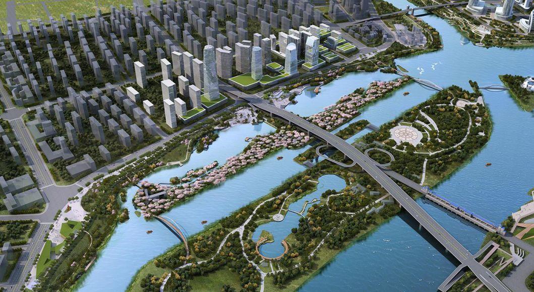 汶上县泉河规划图