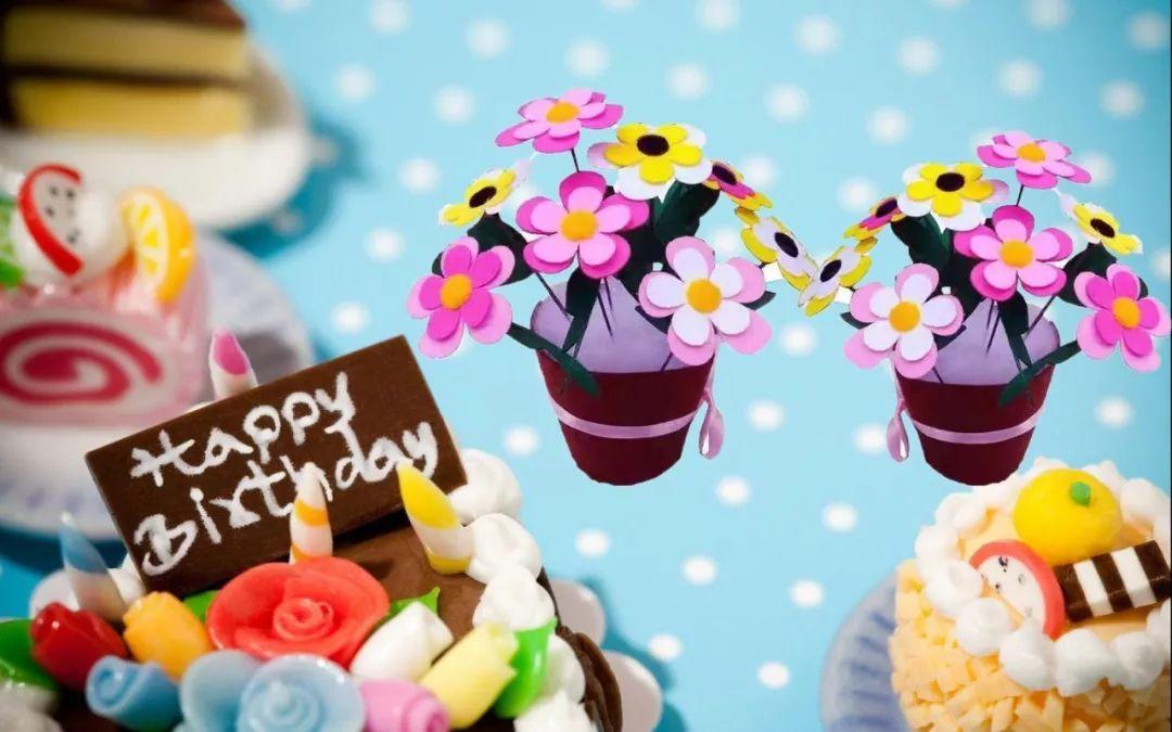 分享生日蛋糕 , 精彩的手工制作 ,成品抱回家呦!