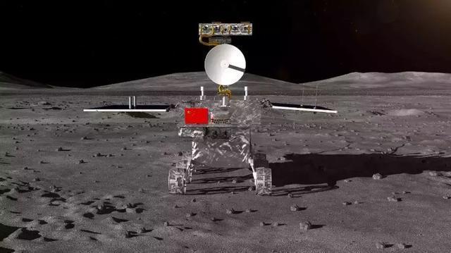 """在北京的中国空间技术研究院,""""嫦娥五号""""探测器就在这里研制,工程师们不断测试着月球土壤钻取试验."""