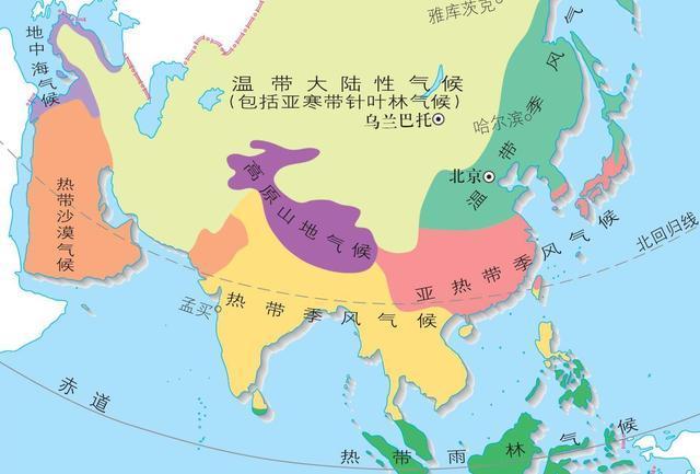 世界上面积最大的三大半岛:阿拉伯半岛,印度半岛和中南半岛图片