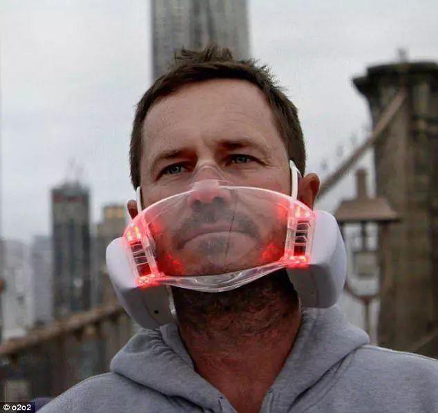 这款自带风扇不起雾的透明口罩,会成为你雾霾天里的最优选吗?豫油说吧
