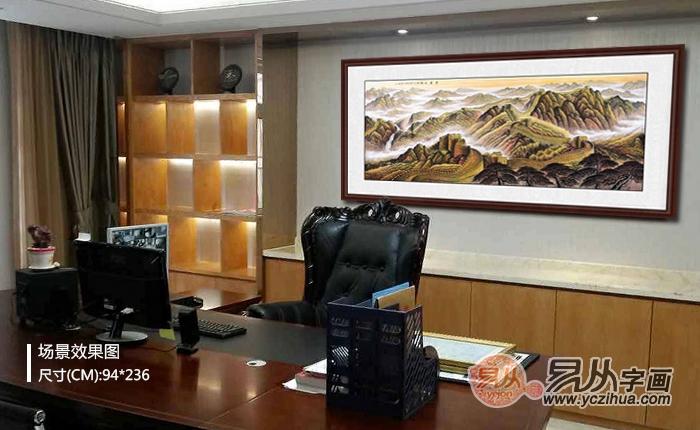 办公室风水画----常见类山水画解读