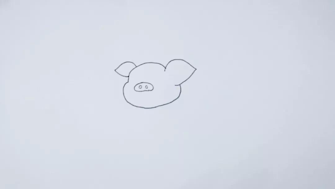 简笔画 猪八戒 巧手教育