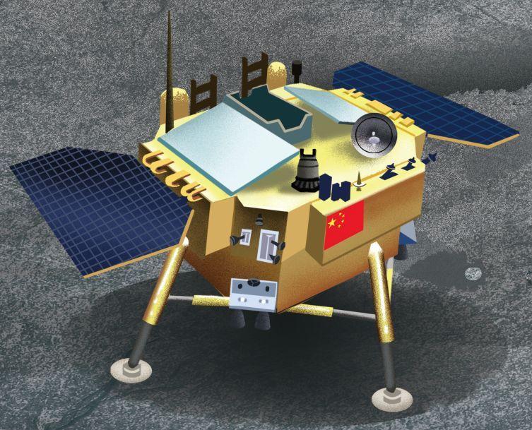 2019年底,我国将发射嫦娥五号探测器.