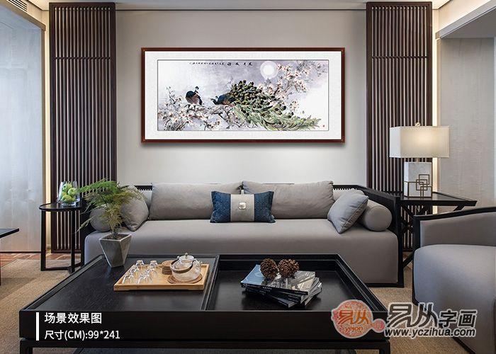 客厅沙发墙画,偷偷告诉你几个选画小知识