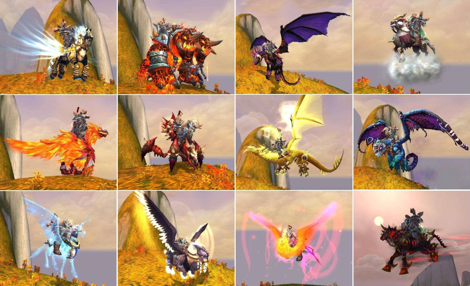 《魔兽世界》8.1来临 你的坐骑满载了吗?