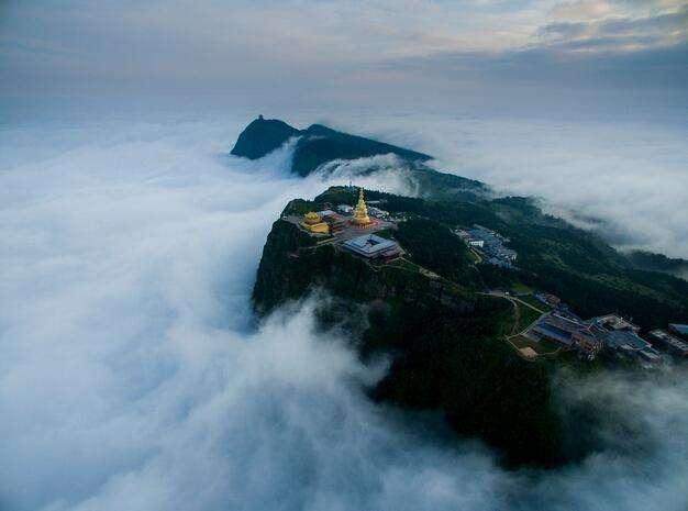 国内6大名山的绝美云海,缥缈如仙境之美