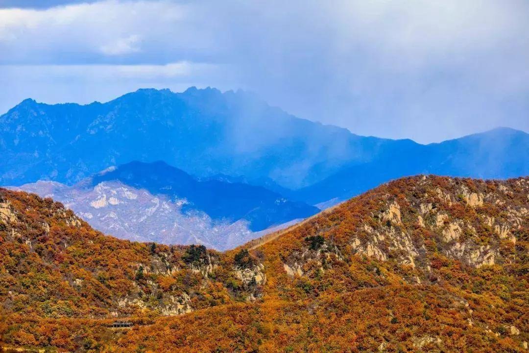 多个景区已经进入了冬季闭园状态 北京喇叭沟原始森林公园已进入冬季图片