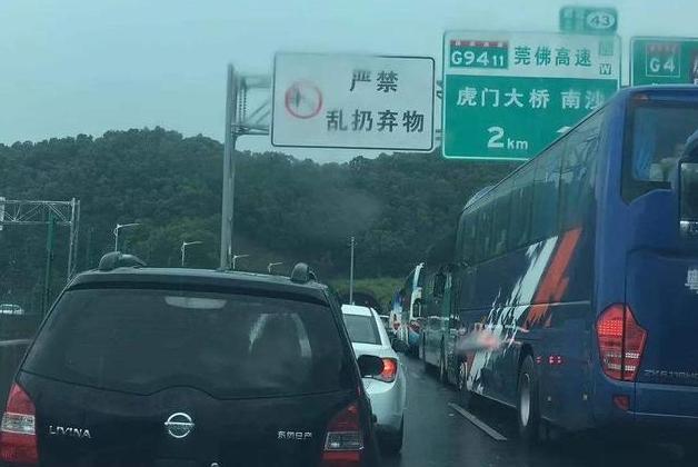 """广东最堵的大桥:中国第一座大型悬索桥,被誉为""""世界第一跨"""""""