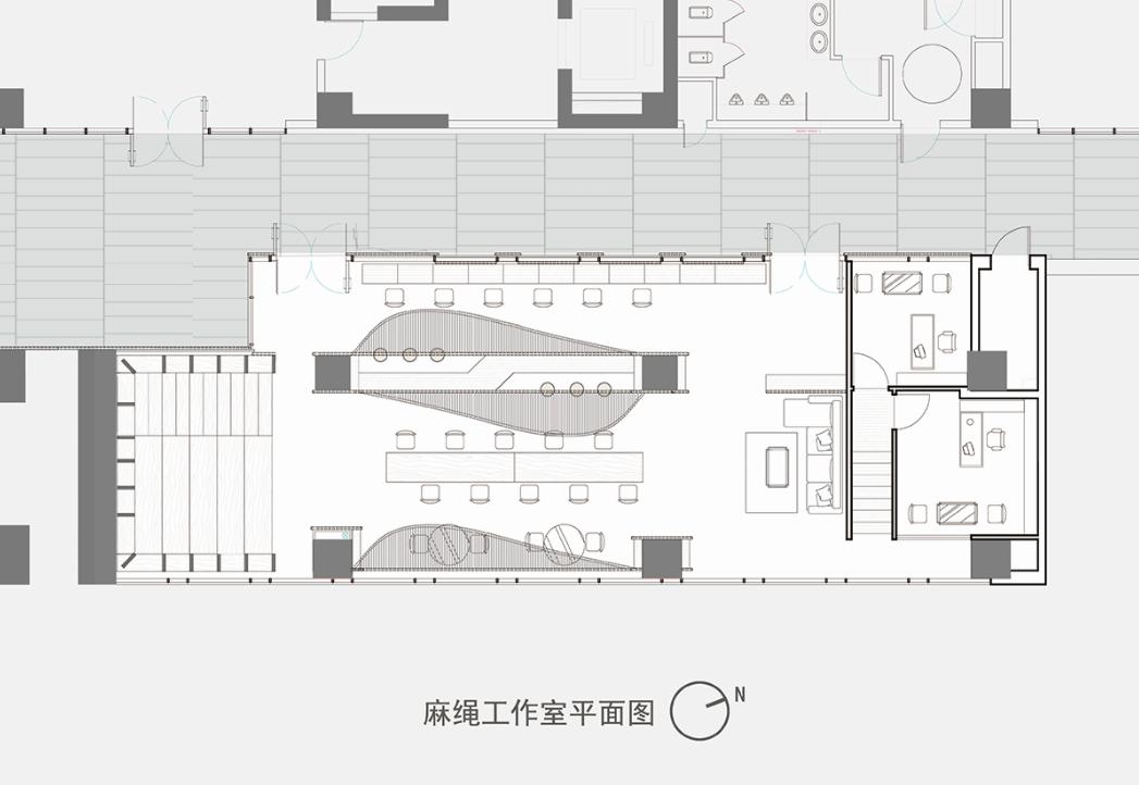 麻绳工作室平面图图片