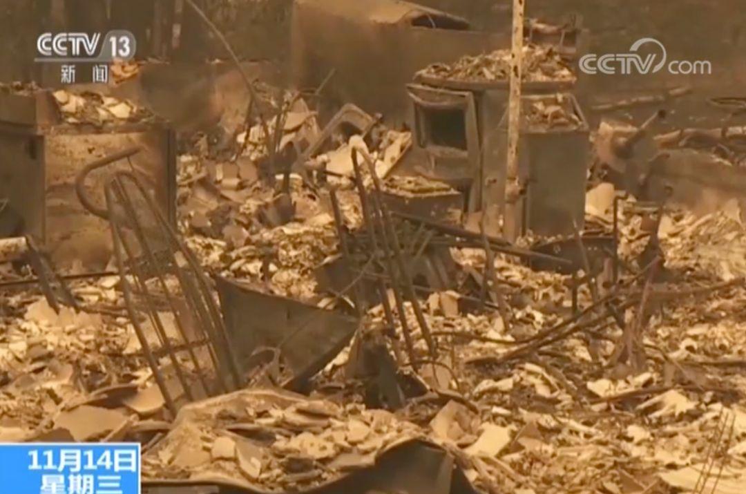 """加州山火""""爆炸式""""蔓延 死亡人数已上升至50人"""