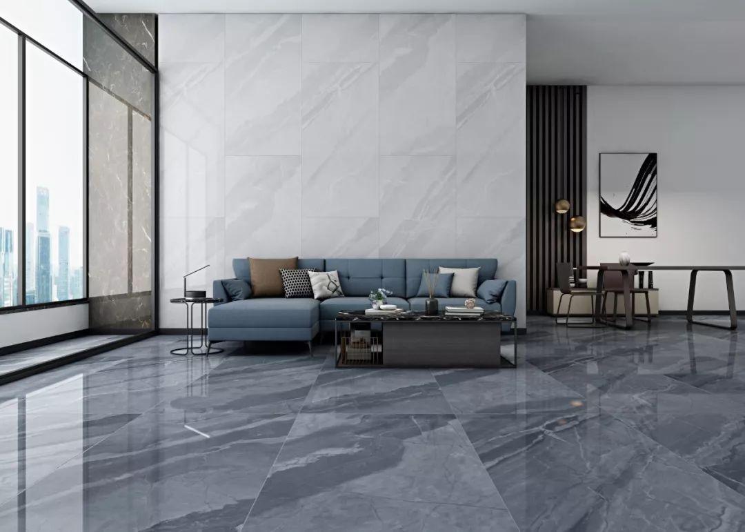 瓷砖背景墙 足以成为客厅内最闪亮的存在 tay2669810 | 雅典灰 | 600x
