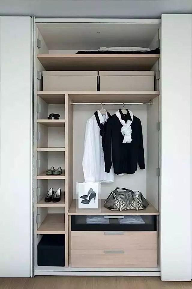 小衣柜内部结构图,你需要知道!