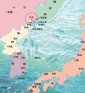 中国东北出海口_看图,你懂得这个出海口对于中国东北意味着什么_罗津港