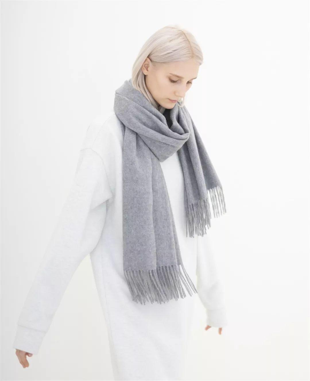 密斯冬季披肩编织