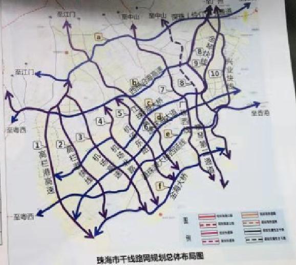 深珠通道 黄茅海通道已纳入省高速路网规划 连接深圳 珠中江