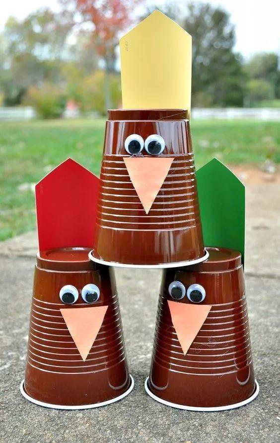 纸杯diy手工制作火箭