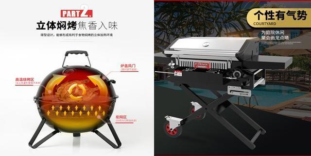 北美最流行的户外烧烤炉