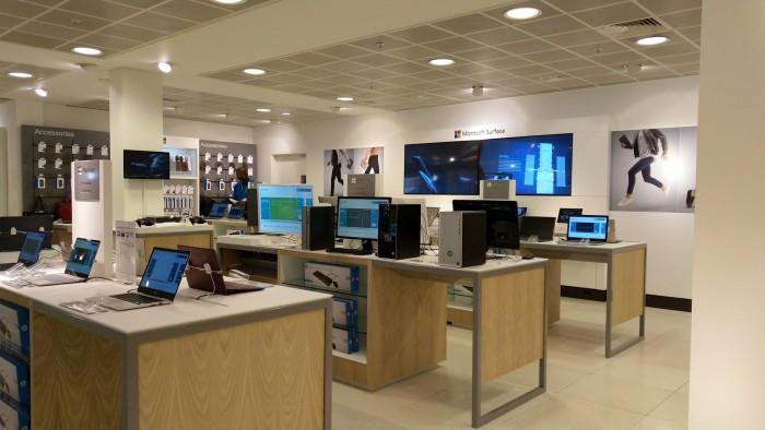"""微软在伦敦切尔西斯隆广场推出""""Microsoft Area""""快闪店"""