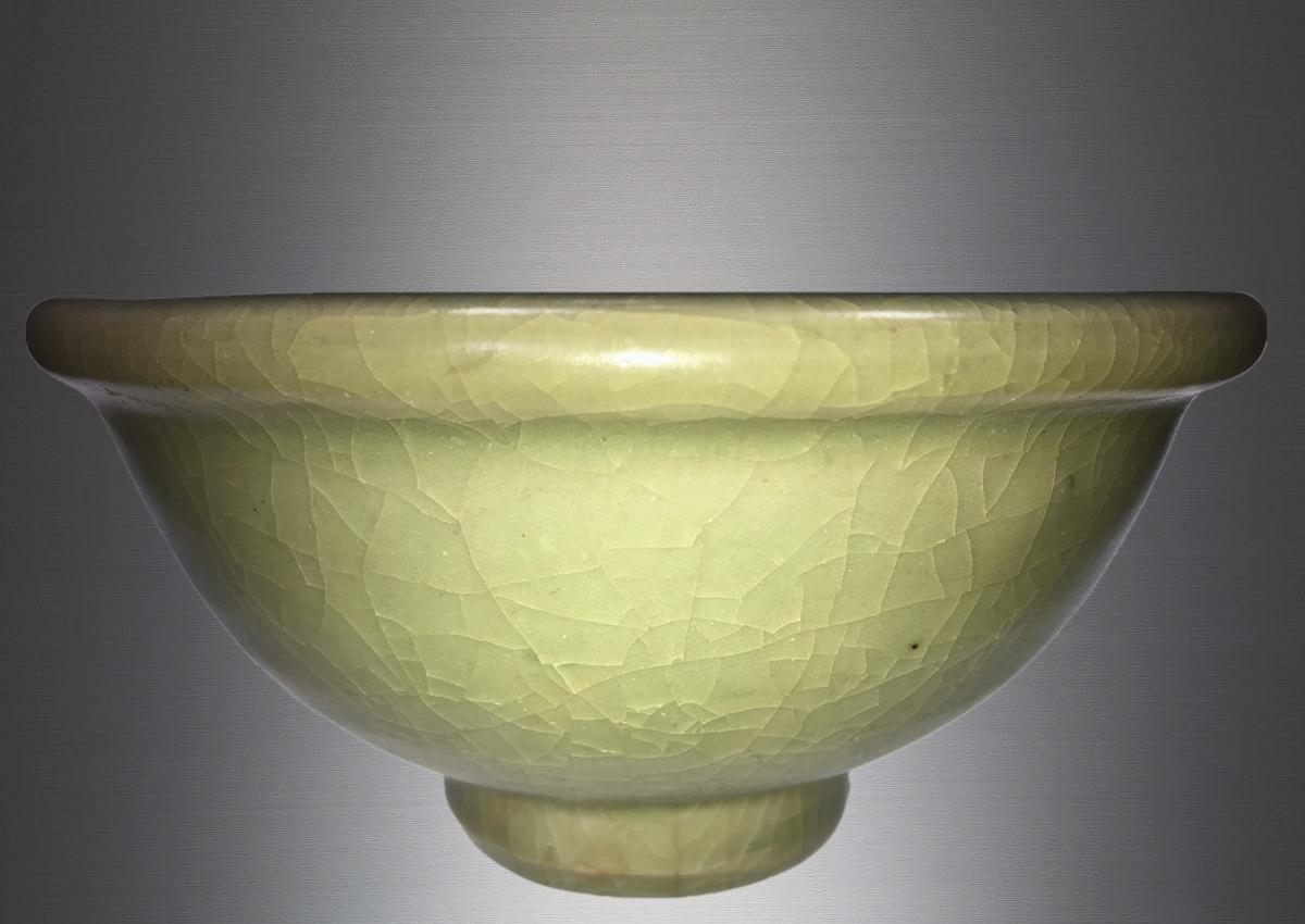 明代 龙泉窑花卉碗 已收藏于苏州观古文物有限公司可供鉴赏_景德镇