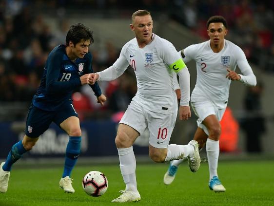 热身赛-林加德阿诺德破门 鲁尼告别战英格兰3-0