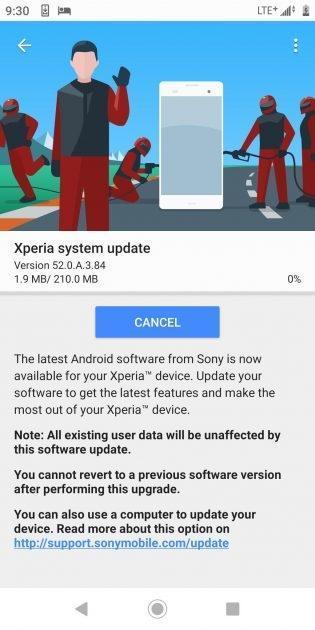索尼为Xperia XZ2 Premium推送Android 9.0 迎来全新手势操作