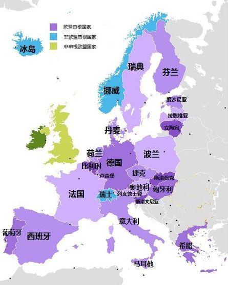 圣诞新年畅游欧洲大陆:去申根国旅行总共分几步?图片