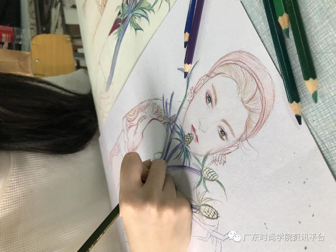 """第二届""""港院杯""""手绘时装画大赛完美落幕"""