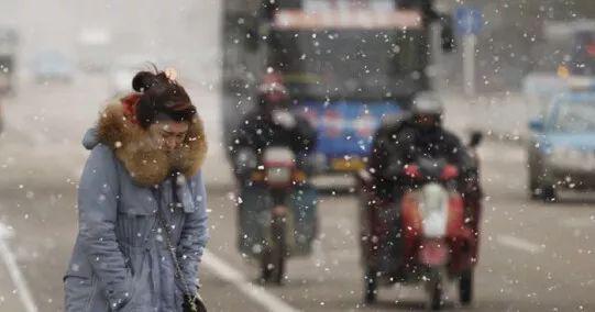哈市白天最高气温首次跌破零下 部分高速封闭