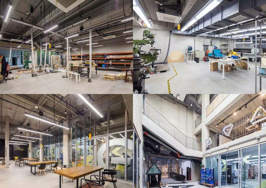 创客工坊 x-factory创客工坊提供的大工作桌面以及工具操作间,是创客图片