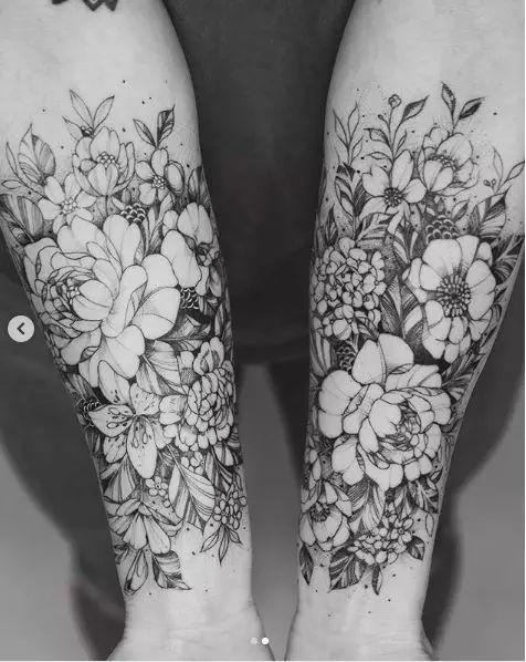 以身体为画板,这个美女纹身师的作品深入灵魂