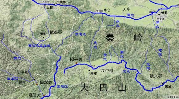 中国古代九大军事战略要地