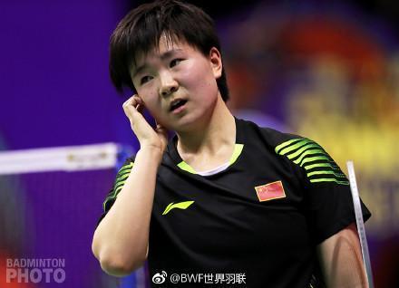 第二局落后时退赛何冰娇无缘香港赛女单4强