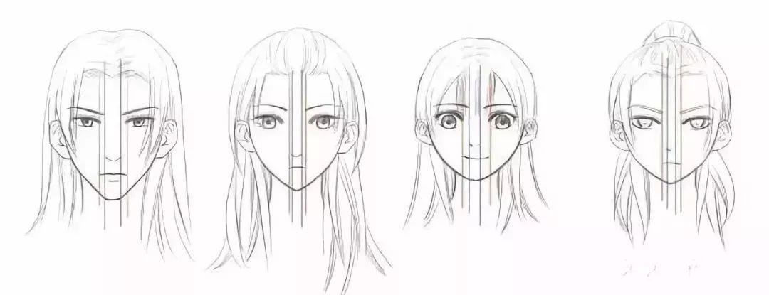 美型人物手绘教程
