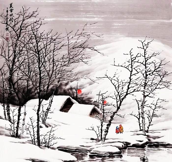 吴大恺的雪景,是冬季最美的景色图片