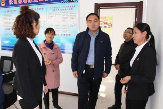 五大连池市政协委员下社区开展文化调研活动