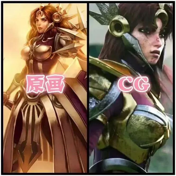 lol福利女角色韦恩图_英雄官方cg对比图, 诺手变年轻了, 德莱文变老实了, 最美还是她_皮肤