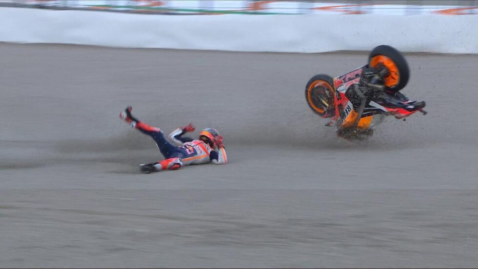 MotoGP瓦伦西亚站多维获第三 洛伦佐回归止步Q1
