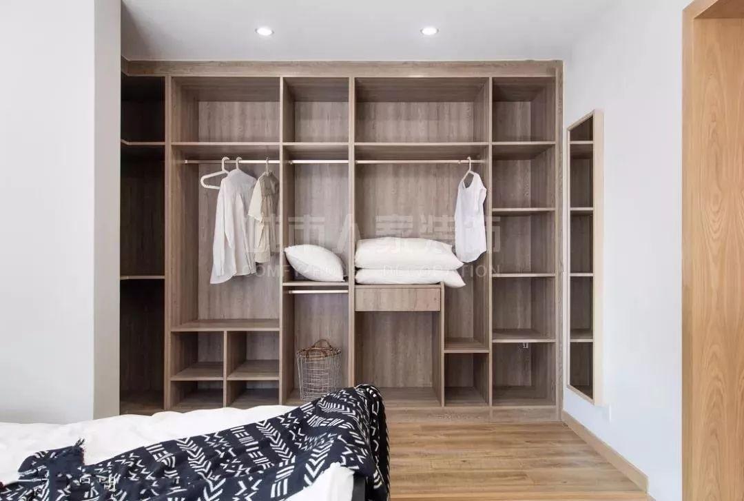 卧室里的衣柜该怎么合理的设计呢?图片