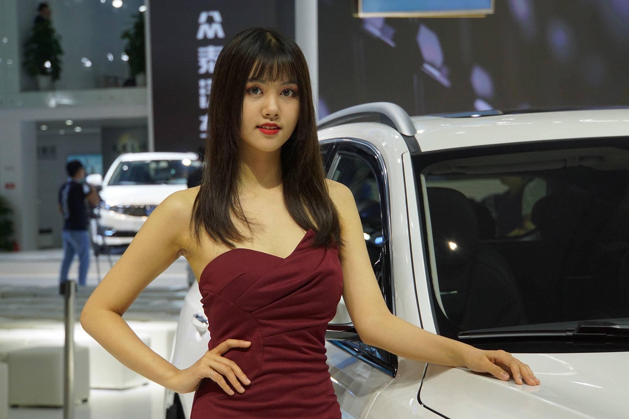 2018广州车展 模特(图片)