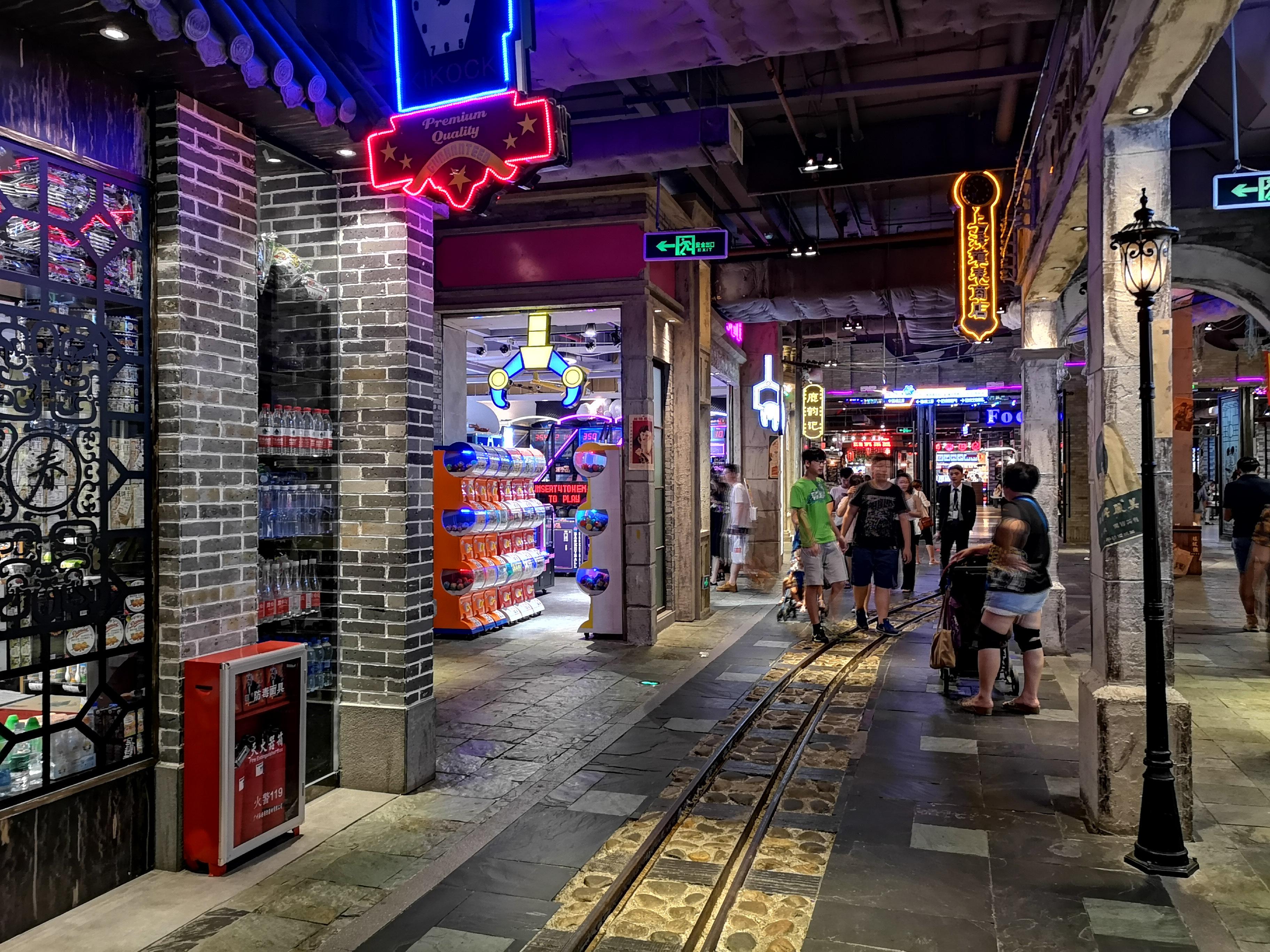 实拍广州时尚天河商业广场,真得好漂亮