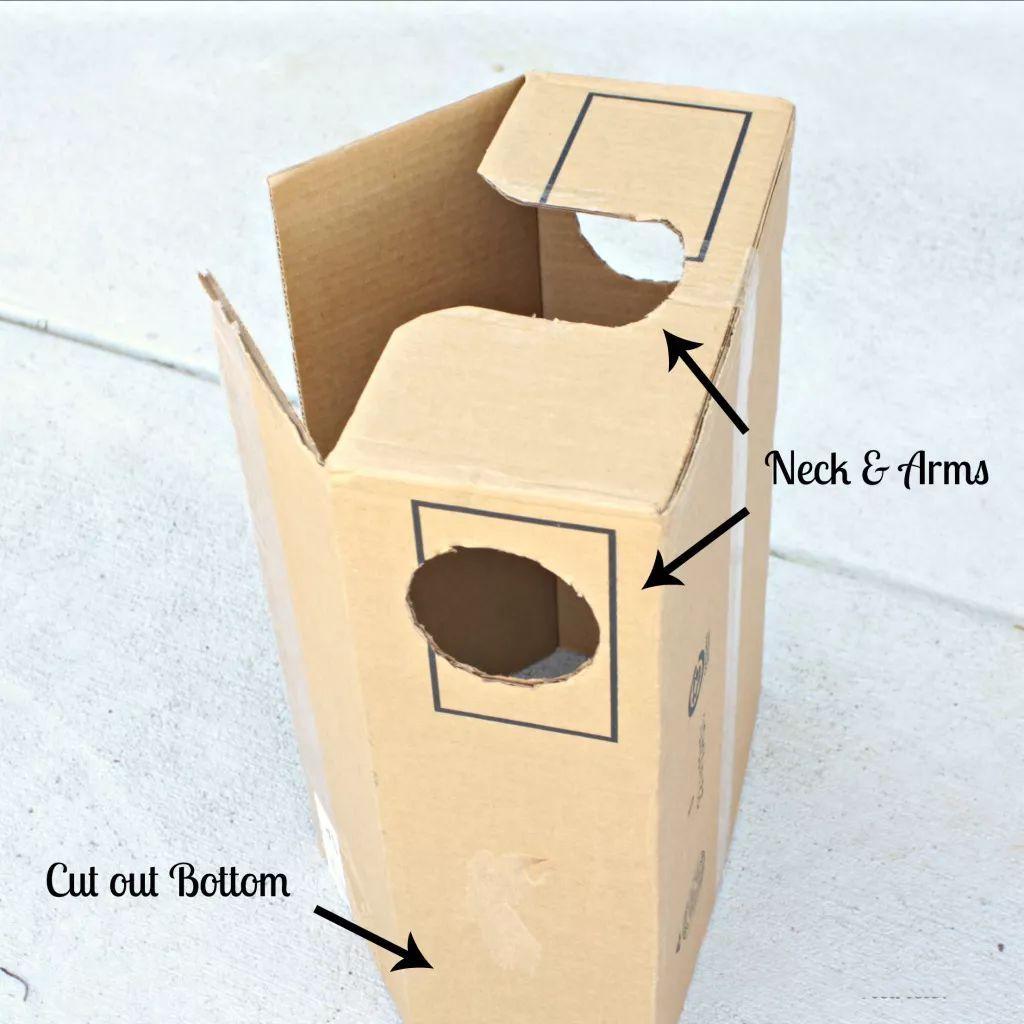 双11的纸箱教你拿来这样做手工