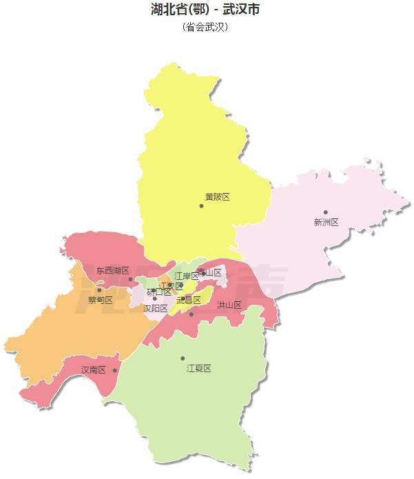 武汉开发区和蔡甸区的关系,为什么地图老是显在蔡甸