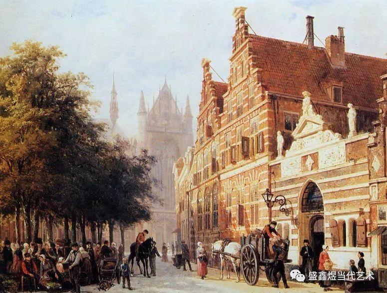 搞笑 正文  荷兰风景画大师 1817 - 1891 ○ end 返回搜